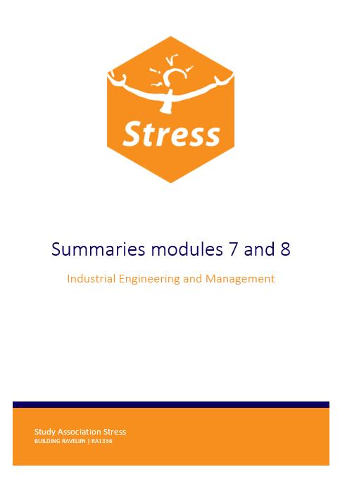 IEM summary bundle module 7 + 8