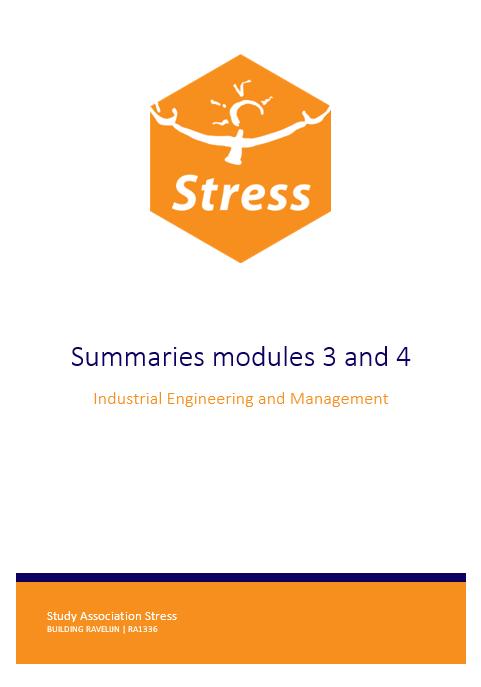 IEM summary bundle module 3 + 4